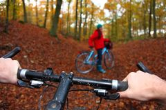 Biking Royalty Free Stock Image