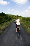 The biking Στοκ Εικόνες