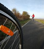 Biking Στοκ Εικόνα