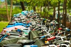 Biking Fotografia de Stock Royalty Free