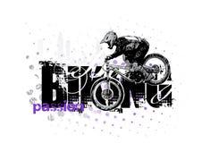 Biking 2 illustrazione di stock