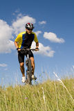 Biking #2 Royalty Free Stock Image