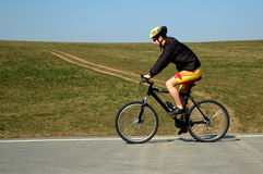 Biking Royalty Free Stock Photos