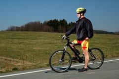 Biking Royalty Free Stock Images