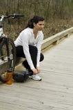Biking Royalty Free Stock Photo