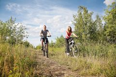 Biking Stock Photography