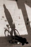 Biking in bejing stock photo