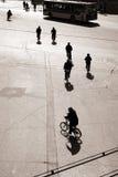 Biking in bejing Royalty Free Stock Image