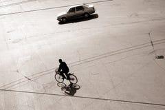 Biking in bejing Royalty Free Stock Photography