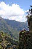 Biking de doodsweg van de bergfiets Stock Fotografie