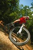 Biking della sporcizia di Mtb Immagini Stock