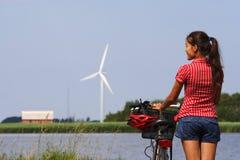 Biking in Denmark Stock Photos