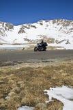 Biking em Colorado Foto de Stock Royalty Free