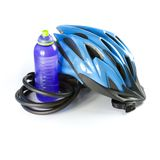 Biking Helmet Royalty Free Stock Photos
