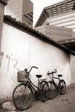 Biking in het bejing Royalty-vrije Stock Fotografie