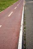 Biking lane Stock Photo
