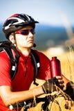 Biking man Stock Photos