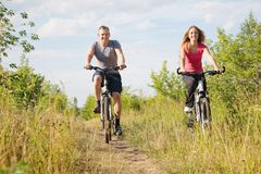 Biking outdoor Royalty Free Stock Image