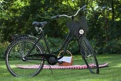 Biking and picnic Royalty Free Stock Photography