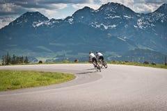 Biking Royalty Free Stock Photography