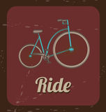 Biking vintage Royalty Free Stock Images