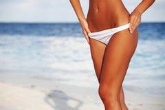 bikini γυναίκα Στοκ Φωτογραφία