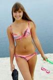 bikini δύτης Στοκ εικόνες με δικαίωμα ελεύθερης χρήσης