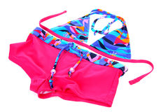 bikini ζωηρόχρωμα κορίτσια Στοκ Εικόνες