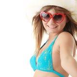 bikini καλοκαίρι κοριτσιών Στοκ εικόνα με δικαίωμα ελεύθερης χρήσης