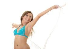bikini καλοκαίρι κοριτσιών Στοκ φωτογραφίες με δικαίωμα ελεύθερης χρήσης