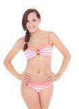 bikini κορίτσι εφηβικό Στοκ Φωτογραφία