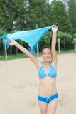 bikini κορίτσι στοκ φωτογραφίες με δικαίωμα ελεύθερης χρήσης