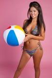 bikini κορίτσι Στοκ εικόνα με δικαίωμα ελεύθερης χρήσης