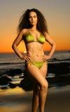 bikini μοντέλο Στοκ εικόνα με δικαίωμα ελεύθερης χρήσης