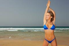 bikini μπλε στοκ φωτογραφία με δικαίωμα ελεύθερης χρήσης