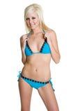 bikini ξανθή γυναίκα Στοκ φωτογραφία με δικαίωμα ελεύθερης χρήσης