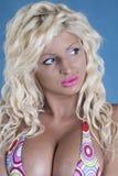 bikini ξανθός προκλητικός Στοκ Φωτογραφίες