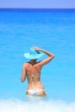 bikini πρότυπος προκλητικός Στοκ εικόνες με δικαίωμα ελεύθερης χρήσης