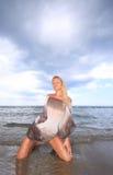 bikini πρότυπος προκλητικός Στοκ φωτογραφία με δικαίωμα ελεύθερης χρήσης