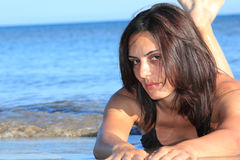 bikini πρότυπος προκλητικός Στοκ Φωτογραφία