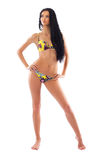 bikini πρότυπος προκλητικός Στοκ εικόνα με δικαίωμα ελεύθερης χρήσης
