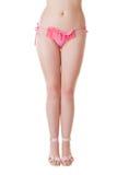 bikini ροζ Στοκ Φωτογραφία