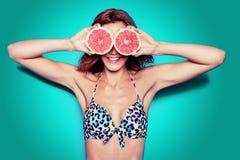 bikini συμβαλλόμενο μέρος Στοκ Εικόνες
