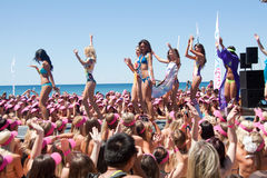 bikini χρυσός κόσμος αρχείων πα Στοκ Φωτογραφία