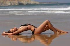 bikini κορίτσι Στοκ εικόνες με δικαίωμα ελεύθερης χρήσης