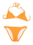 Bikini arancione Immagine Stock