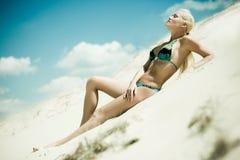 Bikini-Art- und Weisebaumuster Lizenzfreie Stockfotografie