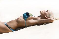Bikini-Art- und Weisebaumuster Stockfotos