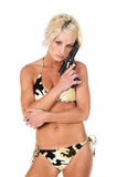 Bikini-Artillerist Lizenzfreies Stockbild