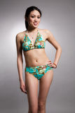 Bikini asian woman Royalty Free Stock Photos